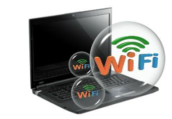 Включаем WIFI на ноутбуке