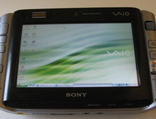 Предварительный обзор ноутбука Sony Vaio P